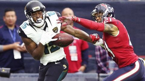 September 10: Jacksonville Jaguars at Houston Texans, 1 p.m. ET