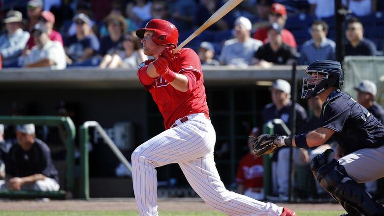 Philadelphia Phillies: Time to Call Up First Baseman Rhys Hoskins