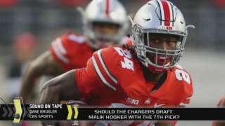 Would it be a bad move for the Chargers to draft Malik Hooker in 1st round?