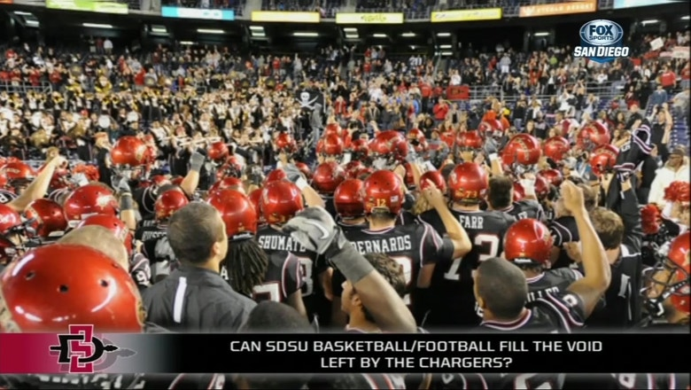 Can SDSU and the Padres fill the void of losing the Chargers for San Diego?