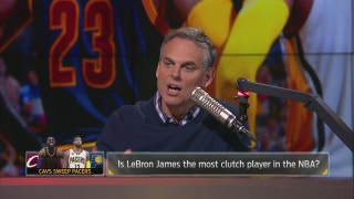 Is LeBron James the most clutch player in the NBA? | THE HERD