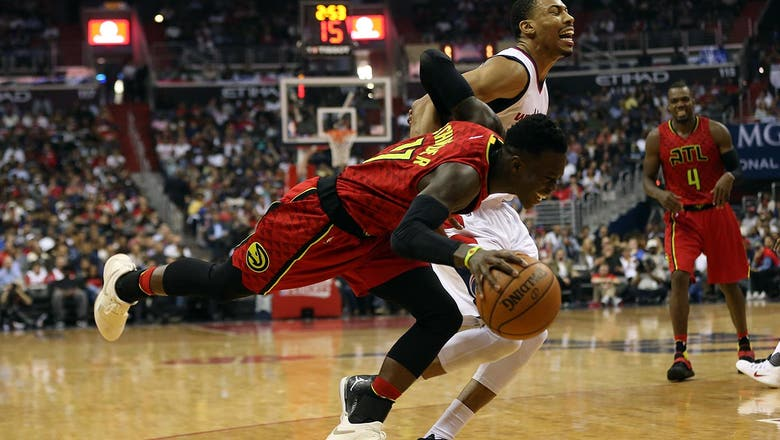 Hawks rally, but Wizards hold on to take 3-2 series lead