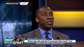 Shannon Sharpe's honest assessment of Myles Garrett | UNDISPUTED