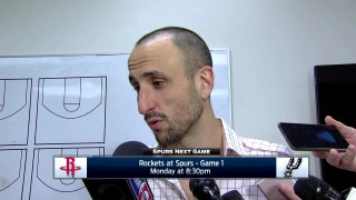 Manu Ginobili talks Game 6 win in Memphis