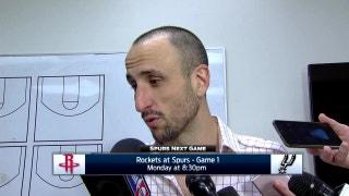 Manu Ginobili talks Game 6 win in Memphis