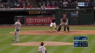 HIGHLIGHTS: Encarnacion, Almonte, Lindor go yard in Indians' comeback win