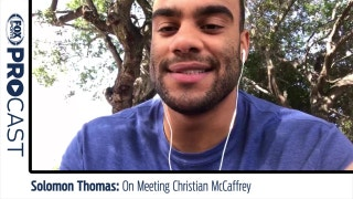 Solomon Thomas On Meeting Christian McCaffrey  | PROcast