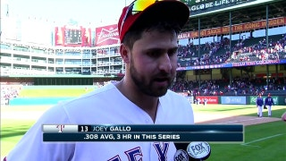 Joey Gallo: 'Beltre is helping me a lot'