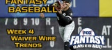 Fantasy Baseball Week 4 Waiver Wire Trends