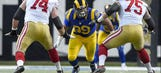 Report: Rams exercise option on defensive tackle Aaron Donald