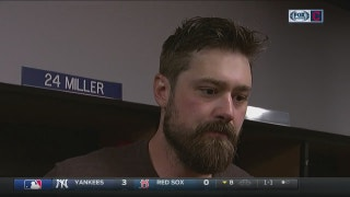 Andrew Miller stays prepared for high-leverage situations
