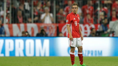 It's an unfamiliar feeling for Bayern ... kind of