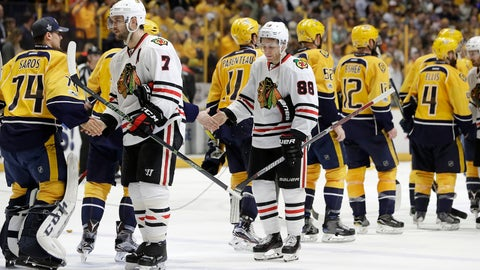 Changes are coming for the Blackhawks