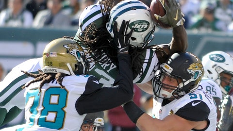 October 1: Jacksonville Jaguars at New York Jets, 1 p.m. ET