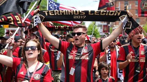 Atlanta continues to set a new expansion standard with a third sellout