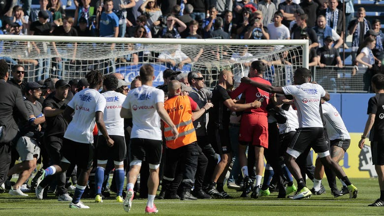 Lyon endures another fan scare, with Bastia deserving of harsh penalty