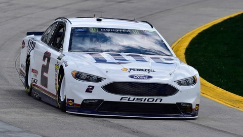 Keselowski Outduels Kyle Busch for 1st Martinsville Win