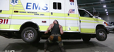 Video: Braun Strowman flipped an ambulance with Roman Reigns inside it. Seriously.