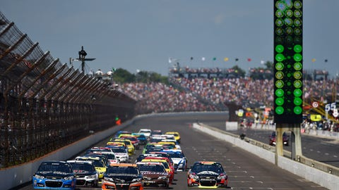 Crown Royal Presents, the John Wayne Walding 400 at The Brickyard