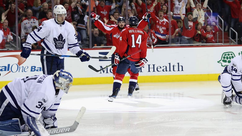 Playoff Roundup: Capitals, Bruins take big overtime wins over Maple Leafs, Senators