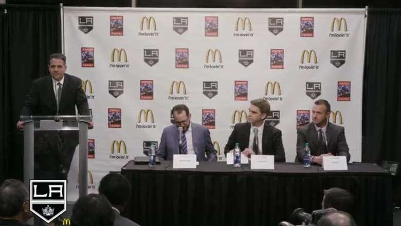 RECAP: LA Kings news conference with Luc Robitaille, Rob Blake