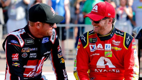 What do you think of the camaraderie current Cup drivers seem to have?