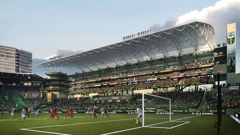 Portland Timbers unveil plans for massive renovation to Providence Park