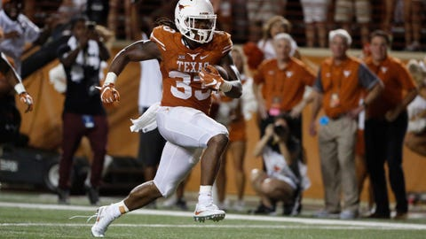 D'Onta Foreman somehow starred at Texas despite losing his infant son