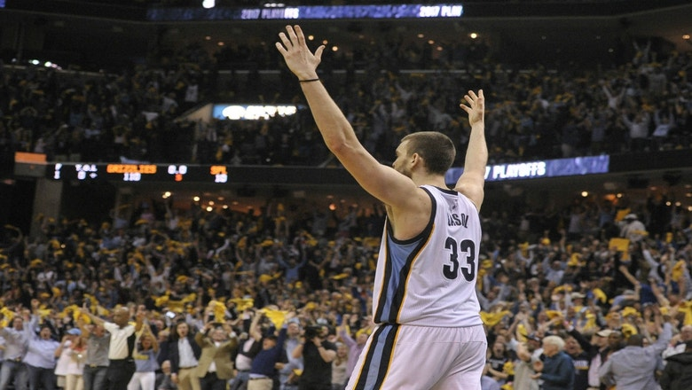 Grizzlies LIVE to GO:  Memphis evens up series 2-2 with a 110-108 overtime victory over the Spurs