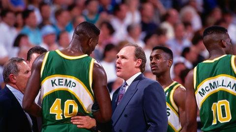 1994 NBA playoffs; No. 8 Nuggets over No. 1 Sonics