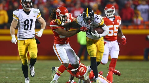 October 15: Pittsburgh Steelers at Kansas City Chiefs, 4:25 p.m. ET