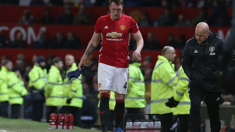 Phil Jones - Manchester United