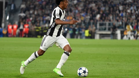 Juan Cuadrado vs. Barcelona's left side