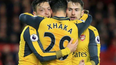 Arsenal's midfield balance