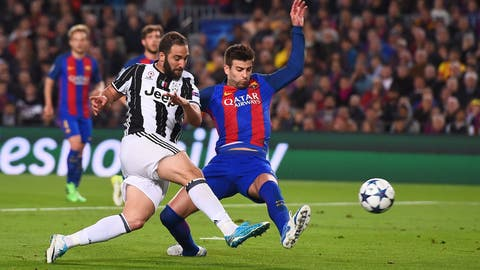 Pique was fantastic both in defense and going forward