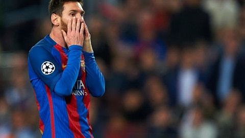 Lionel Messi was a shadow of himself
