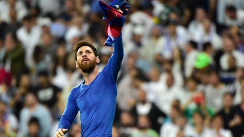 Lionel Messi shined like only he can