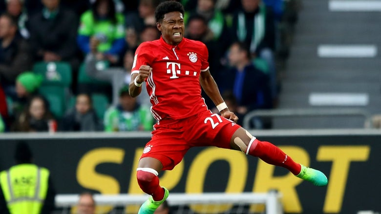 Watch the gorgeous David Alaba free kick that clinched the Bundesliga title for Bayern Munich