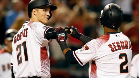 Zack Greinke -- Arizona Diamondbacks: .567 OPS
