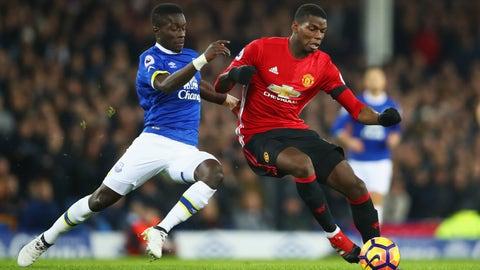 Central midfielder - Idrissa Gueye