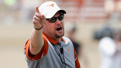 Tom Herman can't transform Texas overnight