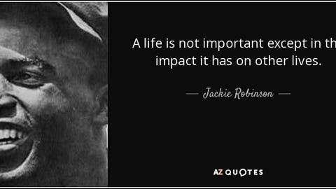 One of Robinson's famous quotes