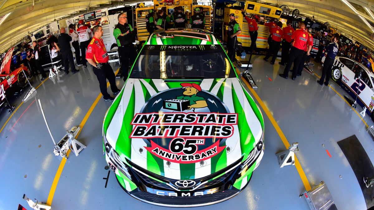 All 40 paint schemes in the O'Reilly Auto Parts 500 at Texas