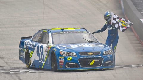 Jimmie Johnson, 244 (10 playoff points)