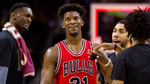 F, third team: Jimmy Butler, Chicago Bulls