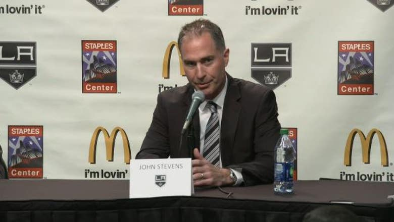 WATCH RECAP: LA Kings introduce new head coach John Stevens