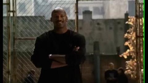 Michael Jordan lets his game speak