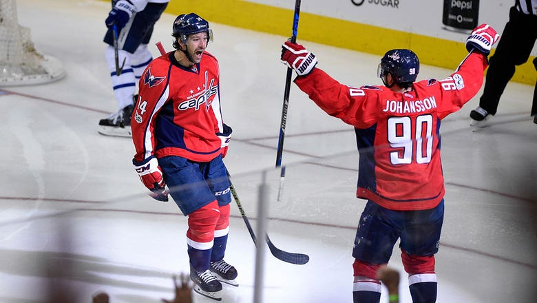 Hockey's big-game scorer Justin Williams comes through again for the Capitals