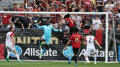 D.C United's defense started in shambles