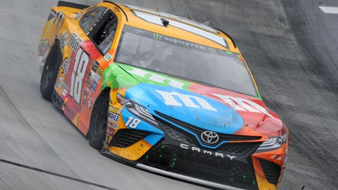 Kyle Busch's incident